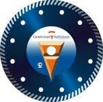 Алмазный отрезной диск Турбо по бетону 230*22,2