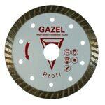 73097 Отрезной алмазный круг (GAZEL Turbo 230x2,6x10x22,2)